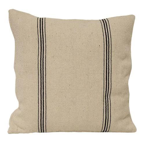 grain sack style pillow cover