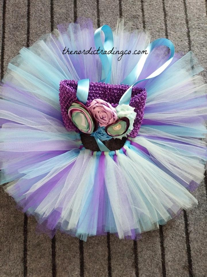 Baby Girl First Birthday Set Little Mermaid Tutu Skirt Under The Sea Thenordictradingco Com