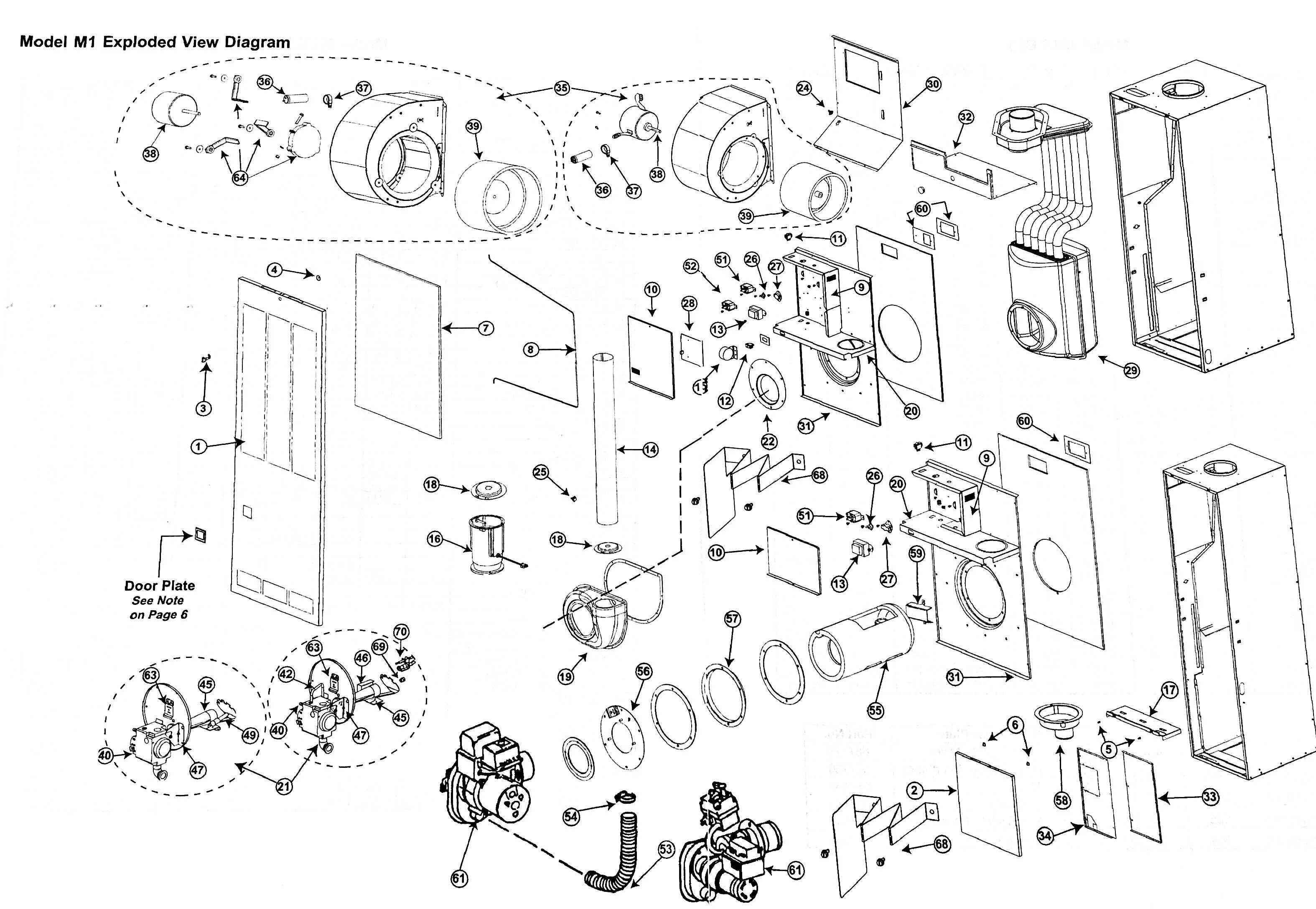 M1MB056 Nordyne Gas Furnace Parts – HVACpartstore