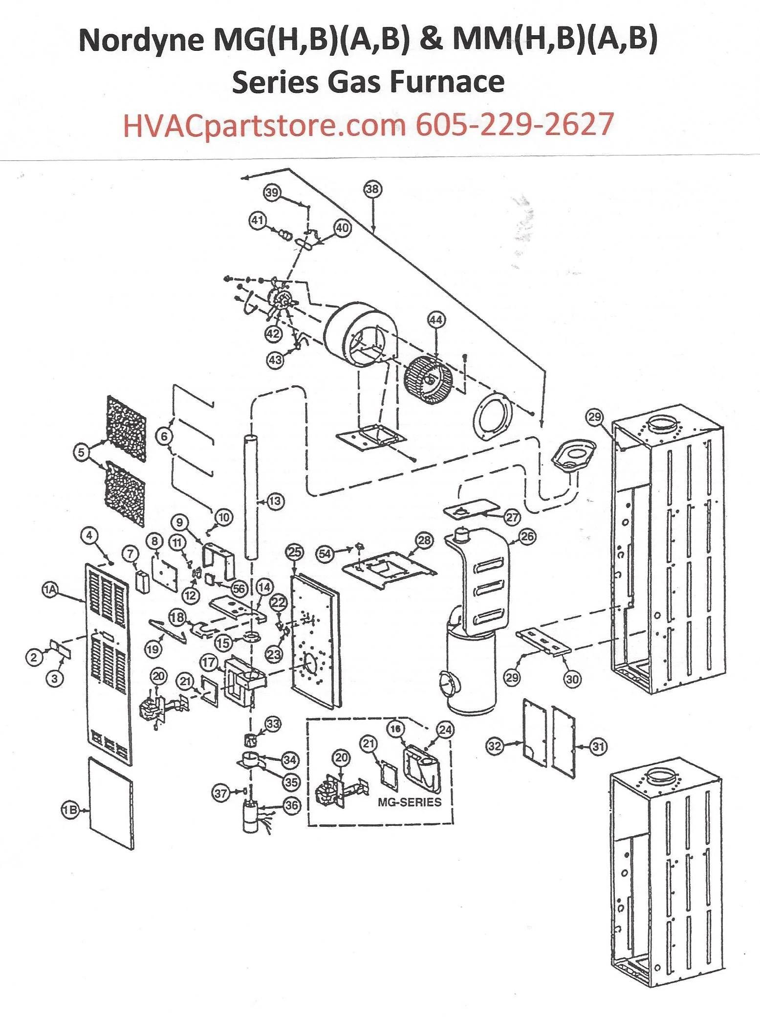MGHA077 Nordyne Gas Furnace Parts – HVACpartstore