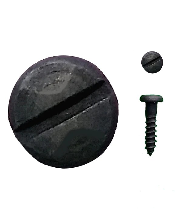 Black Wood Screws Rustic Pyramid Head Wood Screws Wild