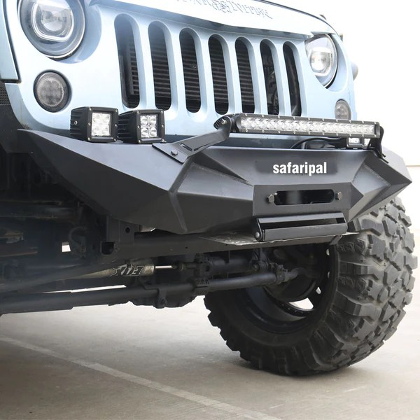 Safaripal Jeep Wrangler Monster Front Rear Bumpers For