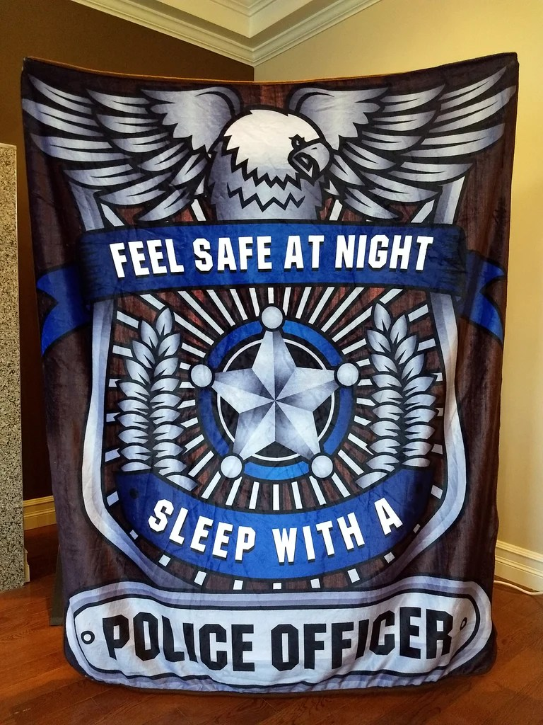 Christmas Special Feel Safe At Night Sleep With A Police