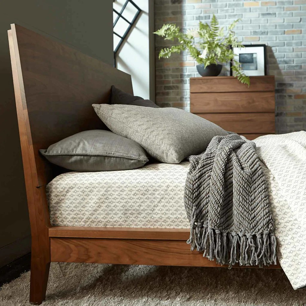 Serra Platform Bed Urban Natural Home Furnishings