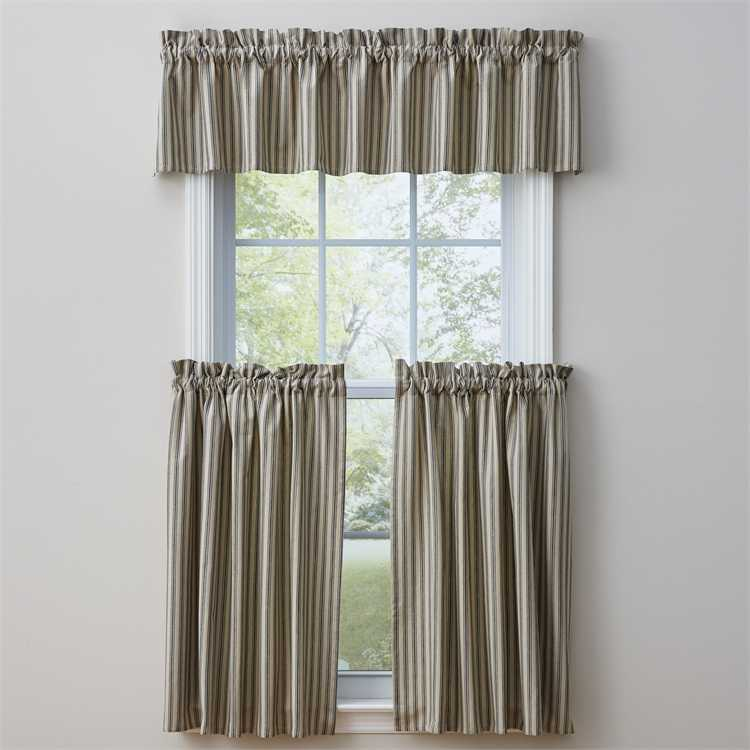 Dover Valance Farmhouse Style Curtain Valance By Park Designs DL Country Barn
