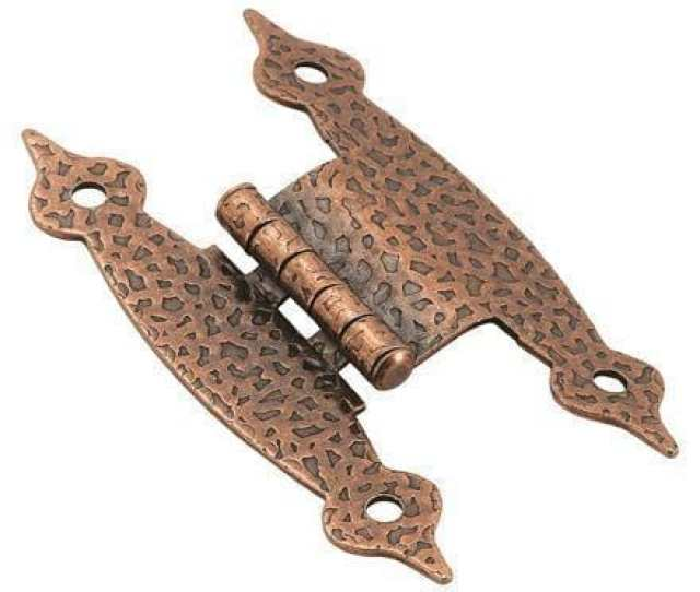 Offset H Type Cabinet Hinges 3 8 Inch Multiple Finishes 2 Pack Hingeoutlet