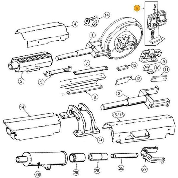 [DIAGRAM] Case 850g Dozer Idler Wheel Diagram FULL Version HD Quality Wheel Diagram  GRENON