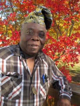 Nigerian artist and activist Tunde Odunlade
