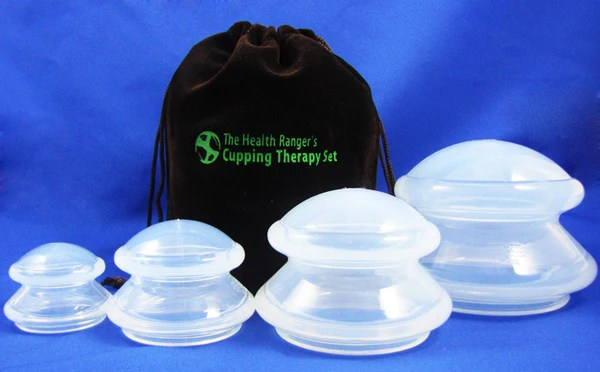 Cupping Therapy Set Oxygen Infused Body Oil Lavender