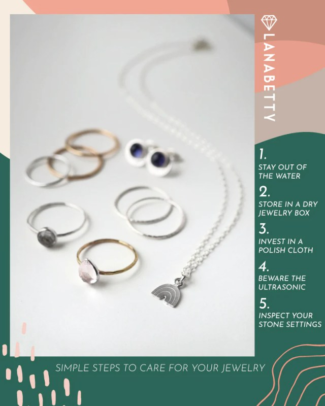 Style Series: How to Clean Your Silver Jewelry– LanaBetty Designs