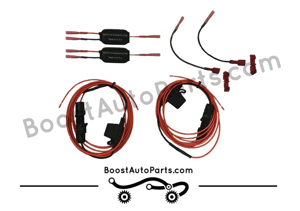 Dual Function Dodge Ram Wiring Harness (Running Light