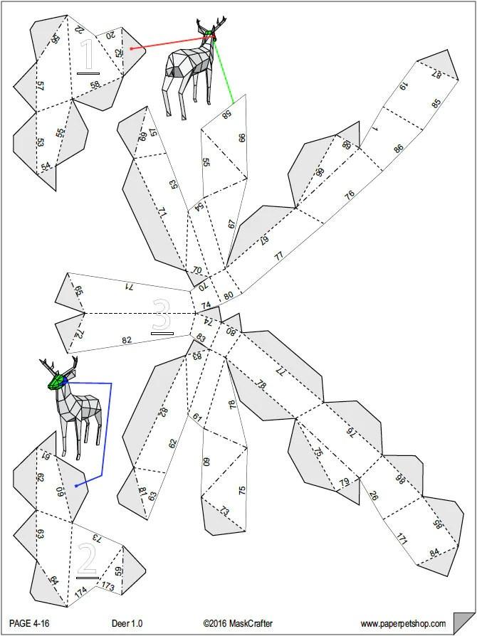 3D PAPERCRAFT ELSA TEMPLATE  Auto Electrical Wiring Diagram