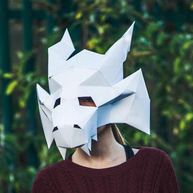 Featured Masks Paperpetshop Papercraft Templates