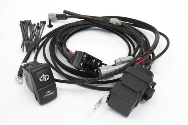 Fan Override Switch Kit  YXZ 1000RSS (Stock Radiator