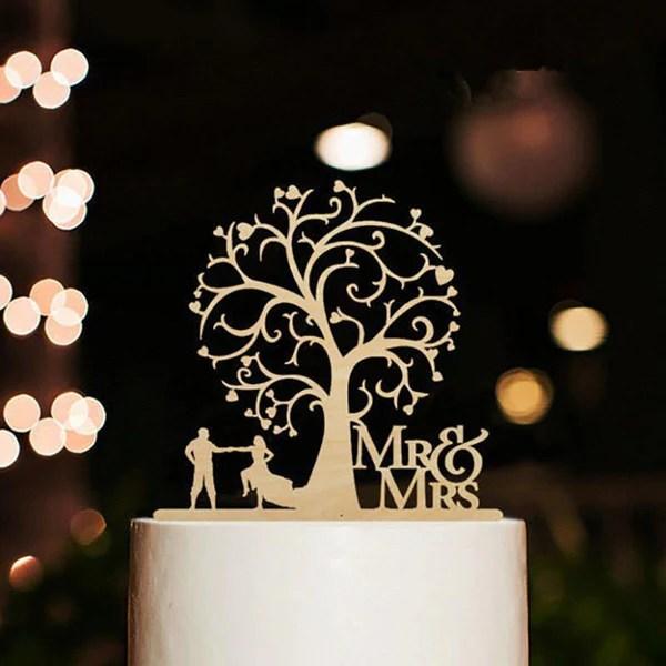 Mr Mrs Wedding Cake Topper Mr Amp Mrs Dancing Cake