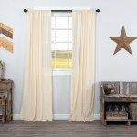 Tobacco Cloth Natural Panel Fringed Set Of 2 84x40 Allysons Place