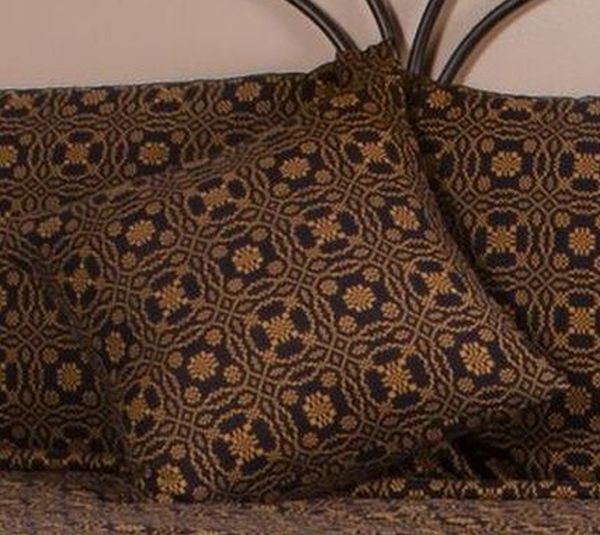 lover s knot jacquard pillow cover 18 in