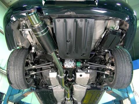 hks carbon ti exhaust subaru wrx 02 07 sti 04 07