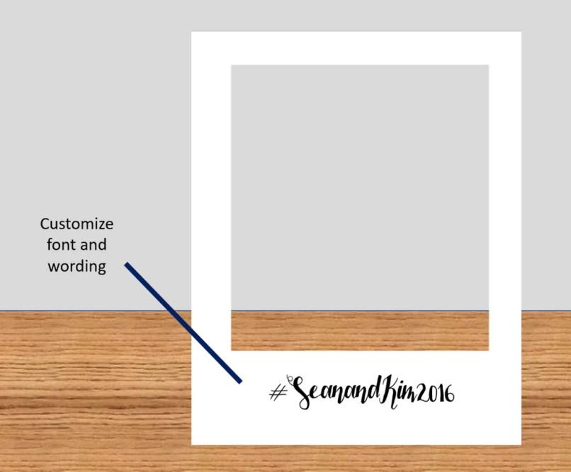 How To Make A Polaroid Frame Prop   Frameswalls.org