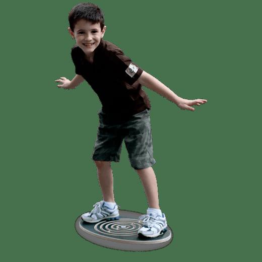 Balance Board Wooden Labyrinth Sprint Wobble Rocker Board
