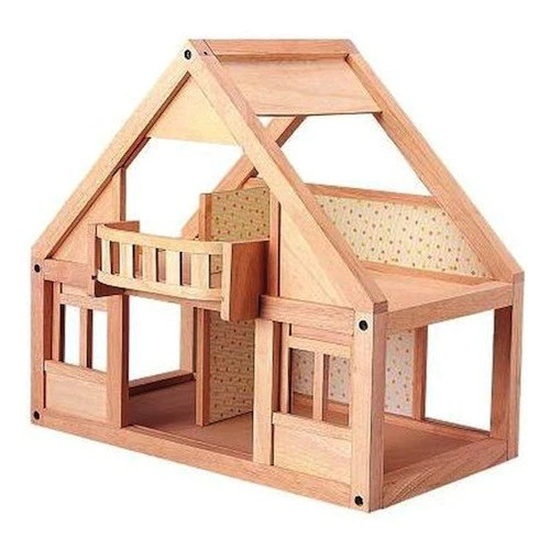 Wooden Doll House Plan Toys My First Dollhouse Classic