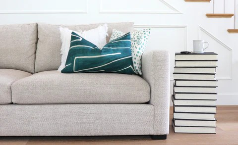 decorative pillow size guide for sofas