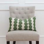 Mid Century Schumacher Full Circle Jungle Green Decorative Pillow Cover Chloe Olive