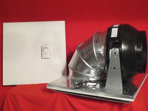 quiet drop ceiling exhaust fan