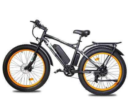 rear rack and fenders for ecotric 26 fat tire ebike ecotric rocket ebike