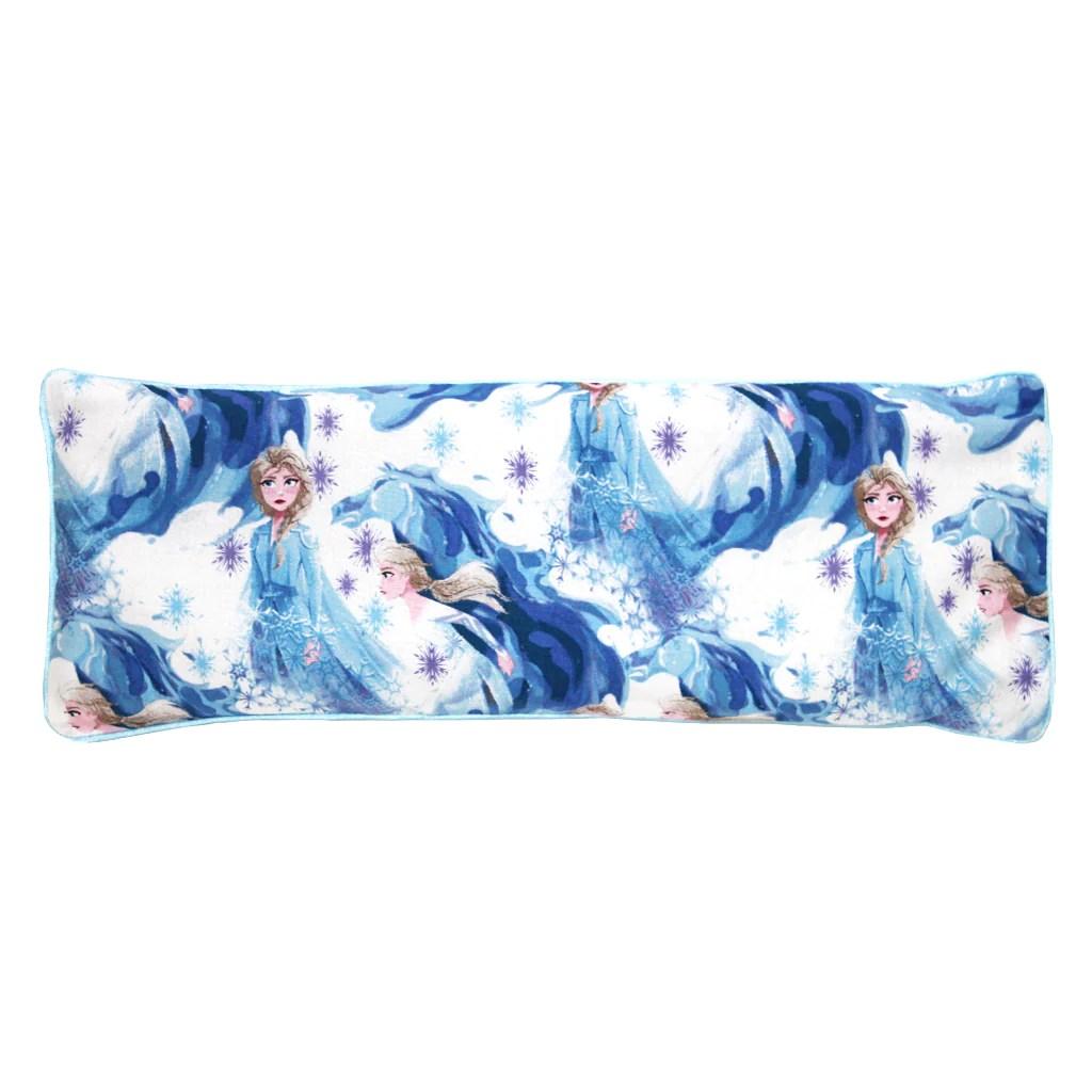 frozen 2 elsa snuggy beansprout husk pillow blue