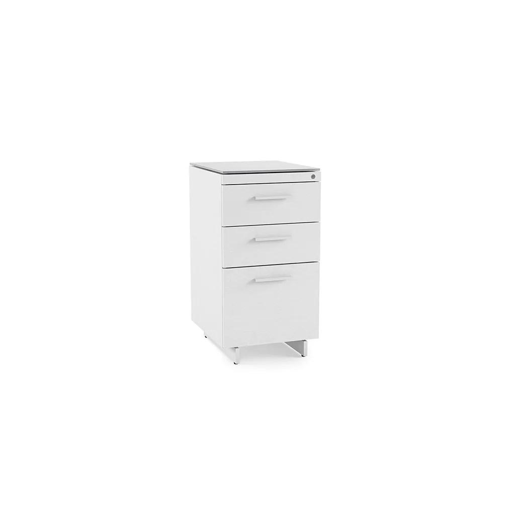 Bdi Centro 6414 3 Drawer File Cabinet