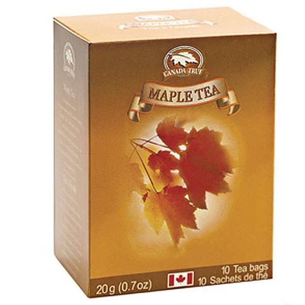 Canada True Tea Box Maple 10 Bags Baskets And Boards