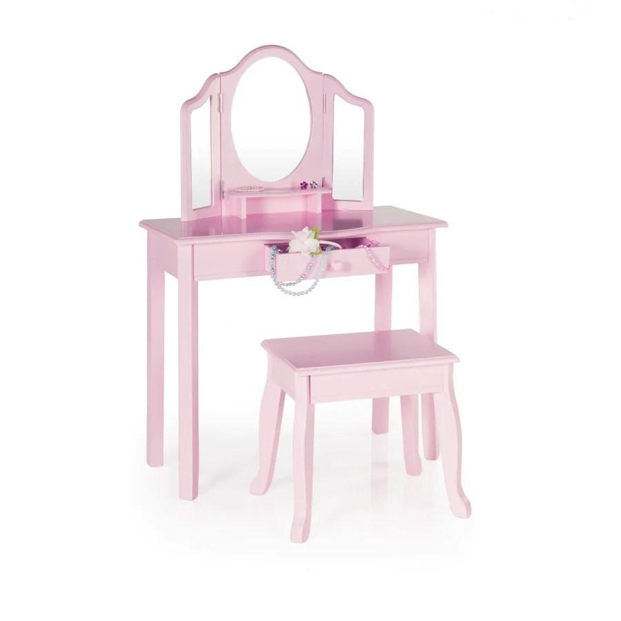 child vanity stool