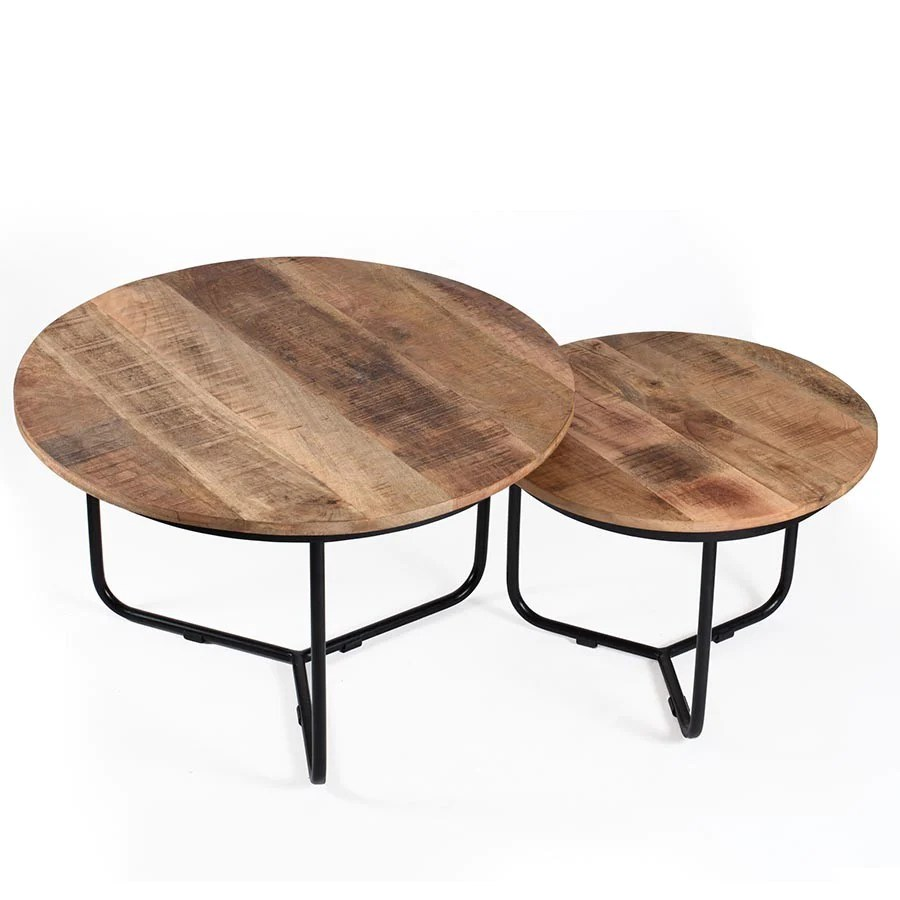 casa round coffee tables set of 2