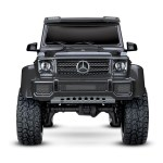 Traxxas Trx 4 Mercedes Benz G 500 2 6 Tires 12mm Satin Black Wheels Caps 4 Body Parts Interior Cars Trucks Motorcycles