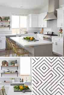 Kitchen Reno Encaustic Cement Tile Backsplash Steals The Show