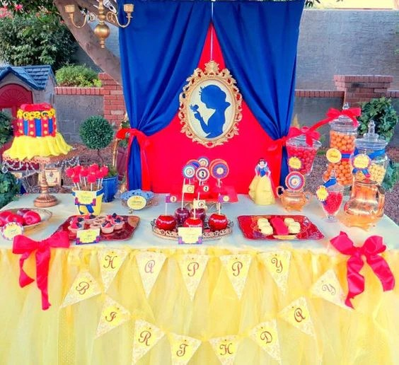 Snow White Party Princess Party Princess Birthday Party Complete G Krown Kreations Celebrations