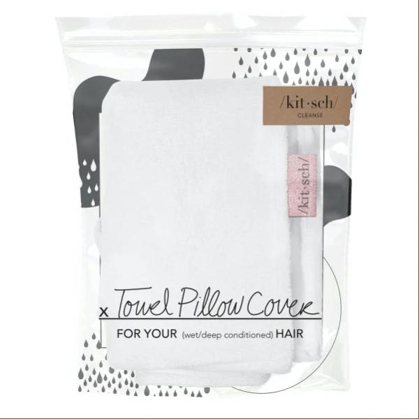kitsch towel pillow cover