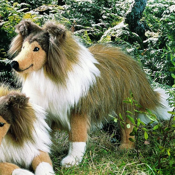 Shetland Sheepdog Stuffed Animal