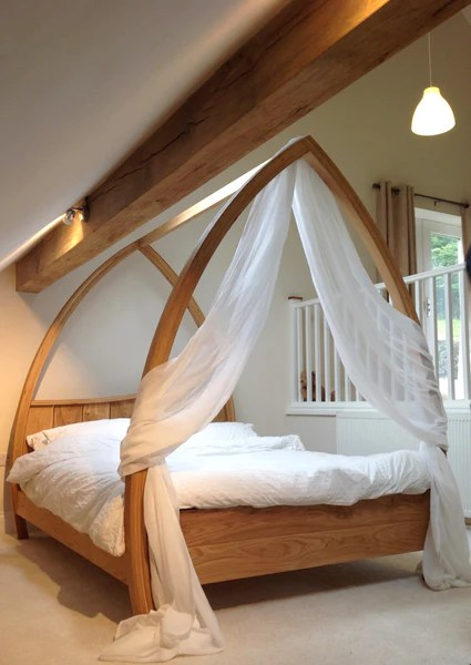 handmade wooden beds abowed