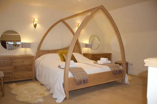 handmade wooden beds abowed