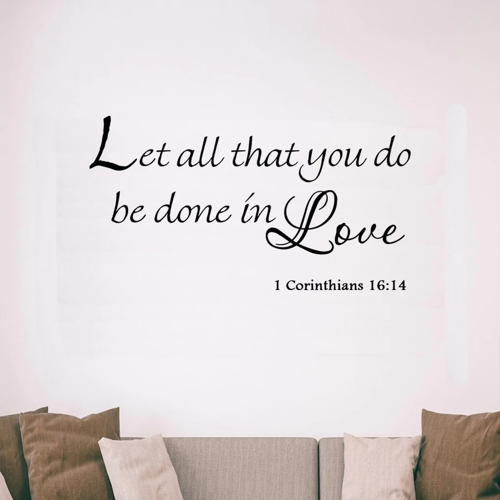 Download VWAQ Let All That You Do Be Done in Love 1 Corinthians 16 ...