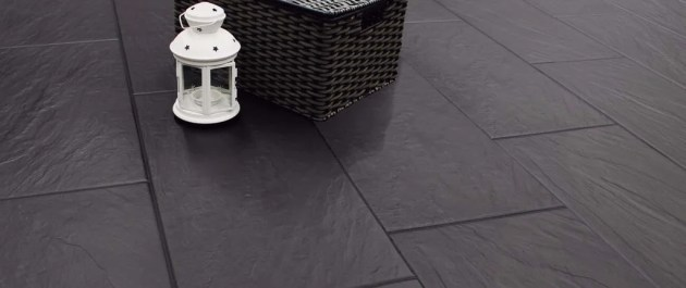 Selecting The Correct Grout For Your New Tiled Floor Black Porcelain Floor Tiles with Black Grout