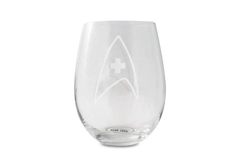 Starfleet Insignia Stemless Wine Glasses Released By Toynk Toys - The Illuminerdi