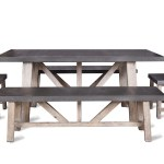 Cement Fibre Table The Forest Co