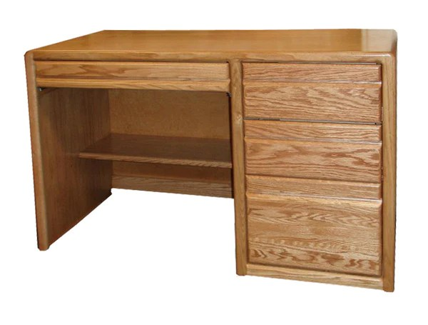 OD O C642   Contemporary Oak 48  Student Desk OD O C642   Contemporary Oak 48  Student Desk   Oak For Less