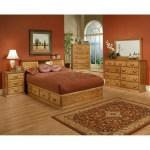 Traditional Oak Platform Bedroom Suite Cal King Size Oak For Less Furniture