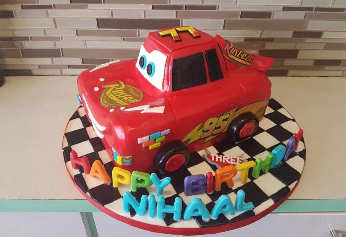 Nihaal 3d Car Cake Rashmis Bakery