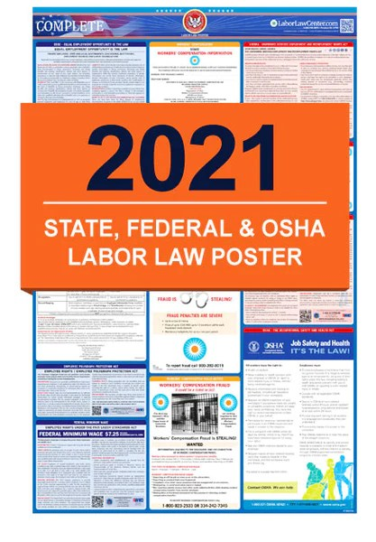 state federal labor law poster required by osha medpro disposal