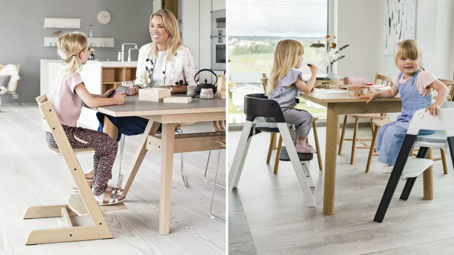 Stokke Tripp Trapp vs. Steps vs. Clikk High Chair Comparison